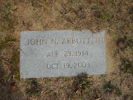 ABBOTT, JOHN N - Barnstable County, Massachusetts | JOHN N ABBOTT - Massachusetts Gravestone Photos