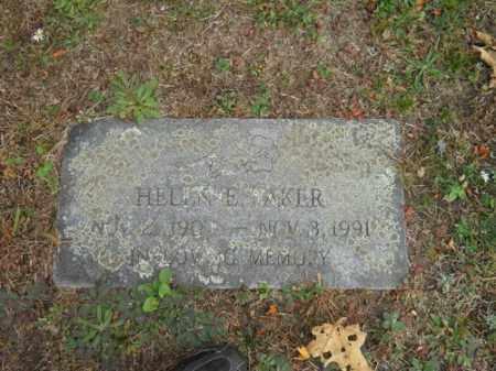 BAKER, HELEN E - Barnstable County, Massachusetts | HELEN E BAKER - Massachusetts Gravestone Photos