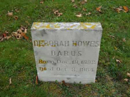 BARUS, DEBORAH HOWES - Barnstable County, Massachusetts | DEBORAH HOWES BARUS - Massachusetts Gravestone Photos