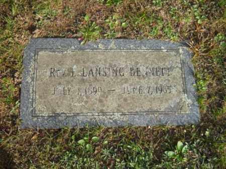 BENNETT, E LANSING - Barnstable County, Massachusetts | E LANSING BENNETT - Massachusetts Gravestone Photos