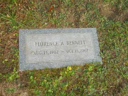BENNETT, FLORENCE A - Barnstable County, Massachusetts   FLORENCE A BENNETT - Massachusetts Gravestone Photos
