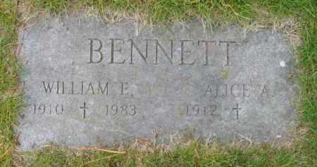BENNETT, WILLIAM E - Barnstable County, Massachusetts | WILLIAM E BENNETT - Massachusetts Gravestone Photos