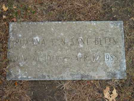 VAN SANT, ROXANA - Barnstable County, Massachusetts | ROXANA VAN SANT - Massachusetts Gravestone Photos