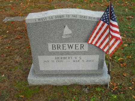 BREWER, HERBERT V S - Barnstable County, Massachusetts | HERBERT V S BREWER - Massachusetts Gravestone Photos