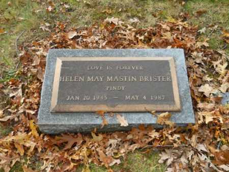 MASTIN BRISTER, HELEN MAY - Barnstable County, Massachusetts | HELEN MAY MASTIN BRISTER - Massachusetts Gravestone Photos