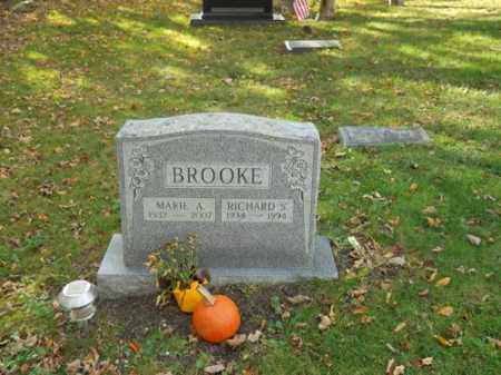BROOKE, MARIE A - Barnstable County, Massachusetts | MARIE A BROOKE - Massachusetts Gravestone Photos
