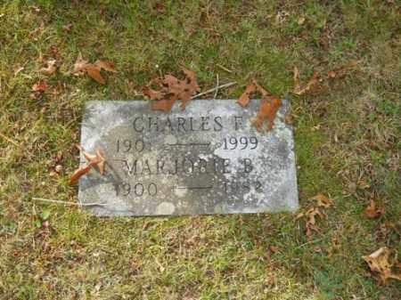 BROWN, MARJORIE B - Barnstable County, Massachusetts   MARJORIE B BROWN - Massachusetts Gravestone Photos
