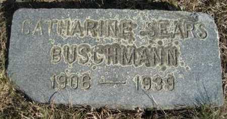 SEARS BUSCHMAN, CATHARINE HOMER - Barnstable County, Massachusetts | CATHARINE HOMER SEARS BUSCHMAN - Massachusetts Gravestone Photos