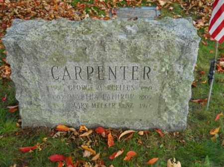 LATHROP CARPENTER, MARTHA - Barnstable County, Massachusetts | MARTHA LATHROP CARPENTER - Massachusetts Gravestone Photos
