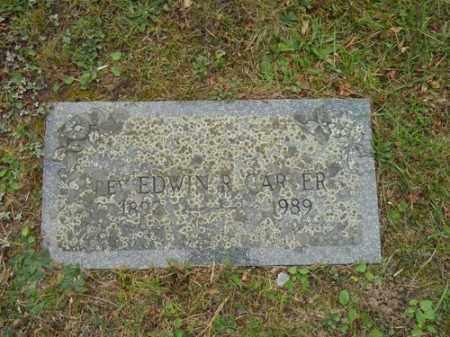 CARTER, EDWIN R REV - Barnstable County, Massachusetts | EDWIN R REV CARTER - Massachusetts Gravestone Photos