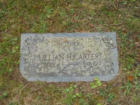 CARTER, LILLIAN H - Barnstable County, Massachusetts   LILLIAN H CARTER - Massachusetts Gravestone Photos