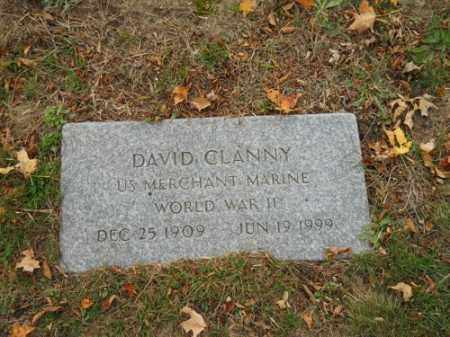 CLANNY (WWII), DAVID - Barnstable County, Massachusetts | DAVID CLANNY (WWII) - Massachusetts Gravestone Photos