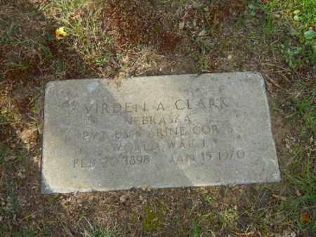CLARK, VIRDEN A - Barnstable County, Massachusetts | VIRDEN A CLARK - Massachusetts Gravestone Photos