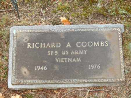 COOMBS, RICHARD A - Barnstable County, Massachusetts | RICHARD A COOMBS - Massachusetts Gravestone Photos