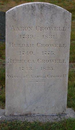 CROWELL, HULDAH - Barnstable County, Massachusetts | HULDAH CROWELL - Massachusetts Gravestone Photos