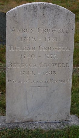 CROWELL, REBECCA - Barnstable County, Massachusetts | REBECCA CROWELL - Massachusetts Gravestone Photos