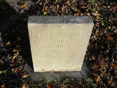 CROWELL, HENRY G - Barnstable County, Massachusetts | HENRY G CROWELL - Massachusetts Gravestone Photos