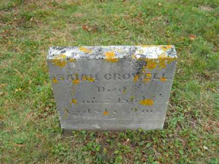 CROWELL, ISAIAH - Barnstable County, Massachusetts   ISAIAH CROWELL - Massachusetts Gravestone Photos