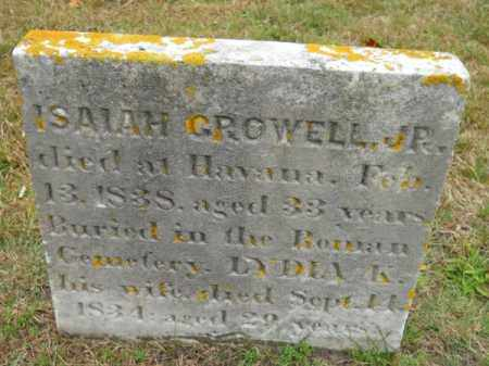 CROWELL, LYDIA - Barnstable County, Massachusetts | LYDIA CROWELL - Massachusetts Gravestone Photos