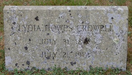 HOWES CROWELL, LYDIA - Barnstable County, Massachusetts | LYDIA HOWES CROWELL - Massachusetts Gravestone Photos
