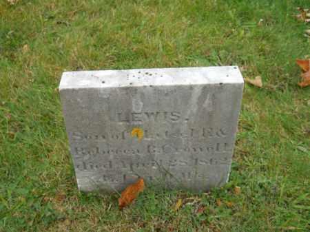 CROWELL, LEWIS - Barnstable County, Massachusetts   LEWIS CROWELL - Massachusetts Gravestone Photos