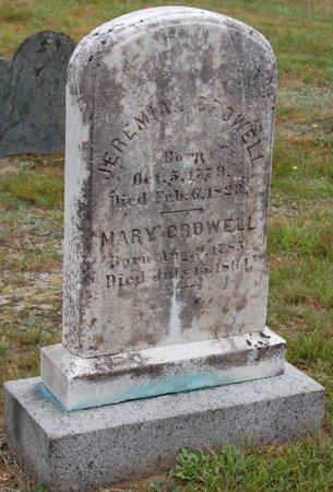 CROWELL, MARY - Barnstable County, Massachusetts   MARY CROWELL - Massachusetts Gravestone Photos