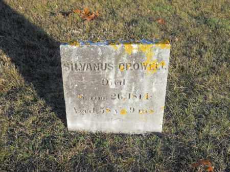 CROWELL, SYLVANUS - Barnstable County, Massachusetts | SYLVANUS CROWELL - Massachusetts Gravestone Photos