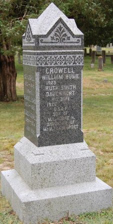 """CROWELL, WILLIAM HUME """"BILL"""" - Barnstable County, Massachusetts 