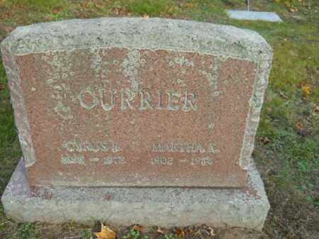 CURRIER, MARTHA K - Barnstable County, Massachusetts | MARTHA K CURRIER - Massachusetts Gravestone Photos