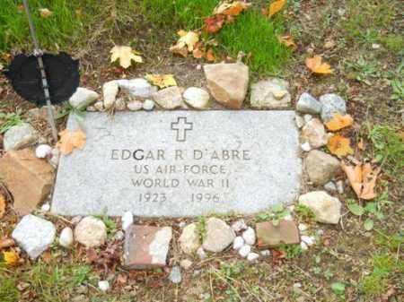D'ABRE (WWII), EDGAR R - Barnstable County, Massachusetts | EDGAR R D'ABRE (WWII) - Massachusetts Gravestone Photos