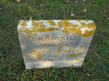 DAVIS, ABIGAIL - Barnstable County, Massachusetts | ABIGAIL DAVIS - Massachusetts Gravestone Photos