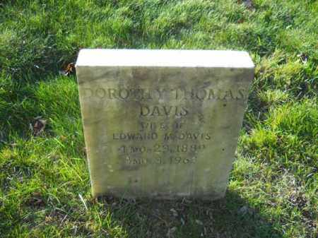 DAVIS, DOROTHY THOMAS - Barnstable County, Massachusetts | DOROTHY THOMAS DAVIS - Massachusetts Gravestone Photos