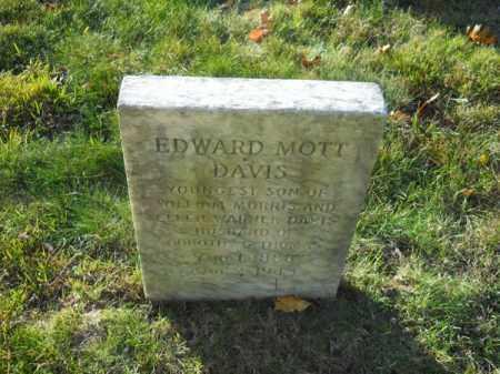 DAVIS, EDWARD MOTT - Barnstable County, Massachusetts | EDWARD MOTT DAVIS - Massachusetts Gravestone Photos