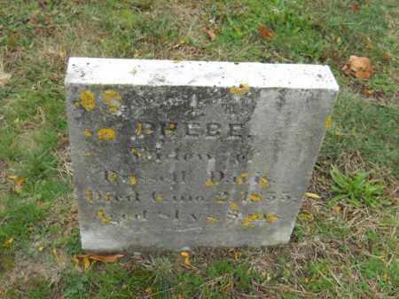 DAVIS, PHEBE - Barnstable County, Massachusetts | PHEBE DAVIS - Massachusetts Gravestone Photos
