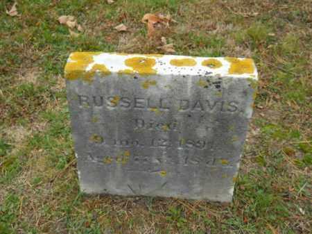 DAVIS, RUSSELL - Barnstable County, Massachusetts | RUSSELL DAVIS - Massachusetts Gravestone Photos