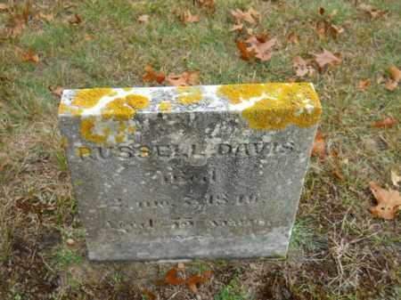DAVIS, RUSSELL - Barnstable County, Massachusetts   RUSSELL DAVIS - Massachusetts Gravestone Photos
