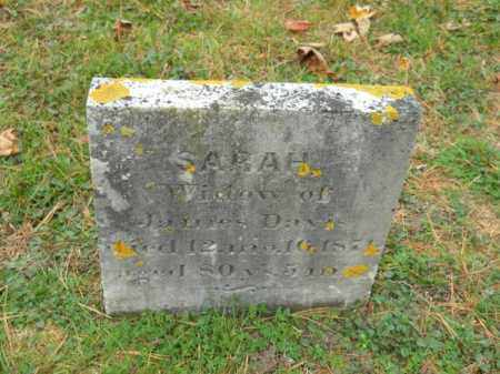 DAVIS, SARAH - Barnstable County, Massachusetts   SARAH DAVIS - Massachusetts Gravestone Photos