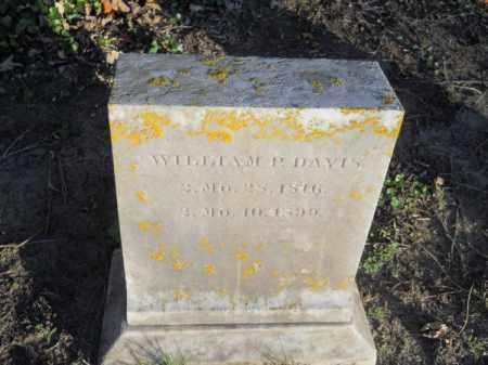 DAVIS, WILLIAM P - Barnstable County, Massachusetts   WILLIAM P DAVIS - Massachusetts Gravestone Photos