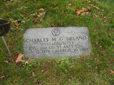 DELANO, CHARLES M G - Barnstable County, Massachusetts | CHARLES M G DELANO - Massachusetts Gravestone Photos
