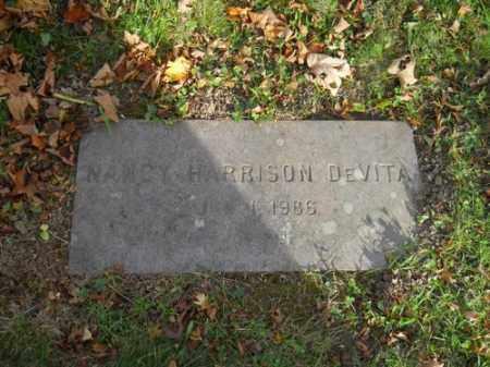 DEVITA, NANCY HARRISON - Barnstable County, Massachusetts | NANCY HARRISON DEVITA - Massachusetts Gravestone Photos