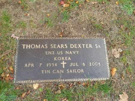 DEXTER, THOMAS SEARS SR - Barnstable County, Massachusetts | THOMAS SEARS SR DEXTER - Massachusetts Gravestone Photos