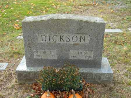 DICKSON, MILDRED P - Barnstable County, Massachusetts | MILDRED P DICKSON - Massachusetts Gravestone Photos