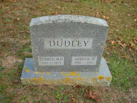 DUDLEY, HENRY G MD - Barnstable County, Massachusetts | HENRY G MD DUDLEY - Massachusetts Gravestone Photos