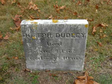 DUDLEY, JOSEPH - Barnstable County, Massachusetts | JOSEPH DUDLEY - Massachusetts Gravestone Photos