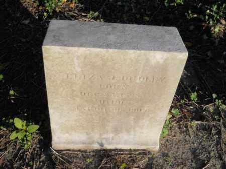 DUDLEY, ELIZA J - Barnstable County, Massachusetts | ELIZA J DUDLEY - Massachusetts Gravestone Photos