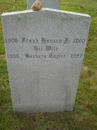 EASTMAN, BARBARA TAPLOR - Barnstable County, Massachusetts | BARBARA TAPLOR EASTMAN - Massachusetts Gravestone Photos
