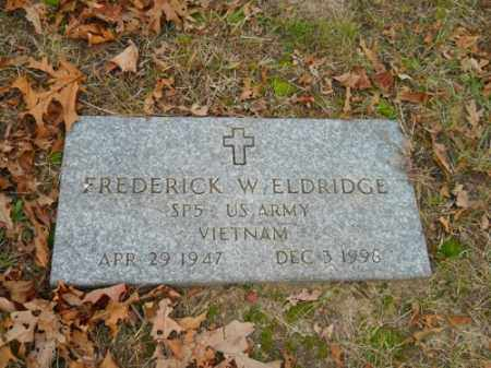 ELDRIDGE (VN), FREDERICK W - Barnstable County, Massachusetts | FREDERICK W ELDRIDGE (VN) - Massachusetts Gravestone Photos
