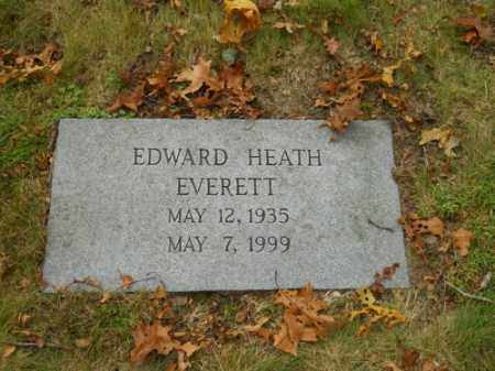EVERETT, EDWARD HEATH - Barnstable County, Massachusetts | EDWARD HEATH EVERETT - Massachusetts Gravestone Photos