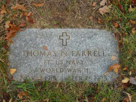 FARRELL, THOMAS N - Barnstable County, Massachusetts   THOMAS N FARRELL - Massachusetts Gravestone Photos