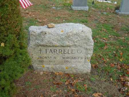 FARRELL, THOMAS N - Barnstable County, Massachusetts | THOMAS N FARRELL - Massachusetts Gravestone Photos